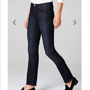 J.jill high rise straight leg jeans